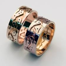 Native American Wedding Rings by The Good Red Road Ojibwe Style Wedding Rings By Zhaawano Fisher