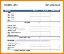 5 business budget spreadsheet outline templatesbusiness budget