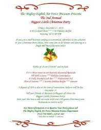 sample holiday party invitations free printable invitation design