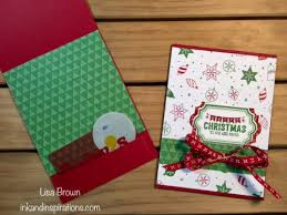 stampin u0027 up 2017 christmas card ideas labels to love gift card