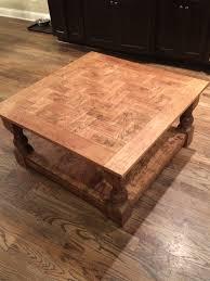 Cherry Coffee Table White Cherry Coffee Table With Herringbone Tiled Top Diy