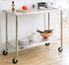 Best  Stainless Steel Prep Table Ideas On Pinterest Stainless - Commercial kitchen stainless steel tables