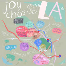 Map Of Downtown Los Angeles 10 Unusual Maps Of Los Angeles U2014 The Bold Italic U2014 San Francisco