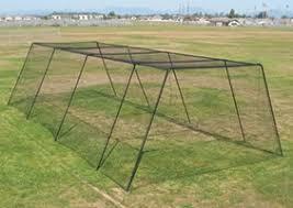 Batting Cage For Backyard by 18 Batting Cage 12 U0027x12 U0027x30 U0027 Black Back Yard Slugger Batting
