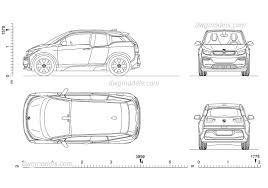 car 2d drawings dolgular com