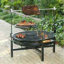 fire pit grill table combo fire pit grill combo jag grill table 5 outdoor fire pit grill combo