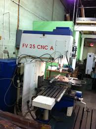 tos fv 25 cnc a vertical mill dipaolo