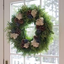 fresh wreaths blueberry christmas wreath from maine variegated wreath