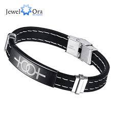 man wrist bracelet images Hot 20 cm stainless steel lesbian men bracelet bangle trendy men jpg