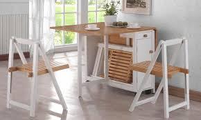 table de cuisine pliante avec chaises table a salle a manger avec à