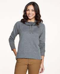 cowl sweater s bft cowl pullover organic cotton blend sweater by