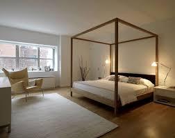 modern four poster bed frame 10505