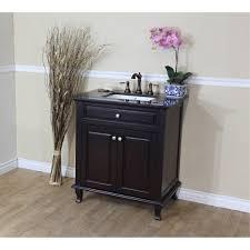White Bathroom Vanity With Black Granite Top - bathroom chic single bathroom vanity furnishing your best