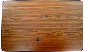 westfalia helsinki table woodboard with black edge trim nla vw parts