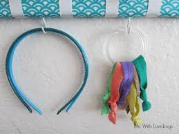 hair tie holder how to make a hair bow holder with accessory hooks with