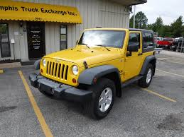 jeep rubicon yellow yellow jeep wrangler in tennessee for sale used cars on