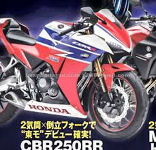 cbr250r honda cbr250rr likely to share underpinnings with cbr250r