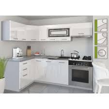 cuisine complete justhome lidja 1 l cuisine équipée complète 130x230 cm couleur