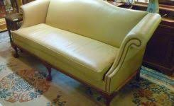 wonderful red leather ottoman chesterfield 1930s tafted red