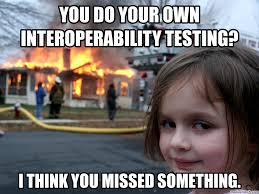 Do Your Own Meme - do your own interoperability testing