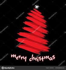 abstract merry christmas tree design u2014 stock vector vectotaart