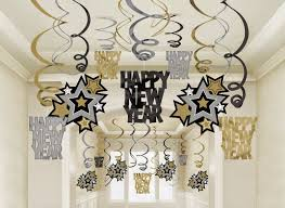new year u0027s eve home party decorating ideas streamers