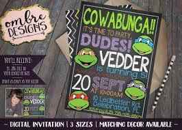 the 25 best ninja turtle invitations ideas on pinterest ninja