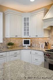 Kitchen Backsplash White Cabinets by A Stylish Condo In Toronto U0027s Yorkville Neighbourhood Toronto