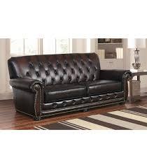 sofas sonoma tufted leather sofa
