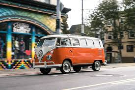 volkswagen bus front volkswagen i d buzz concept first drive review automobile magazine
