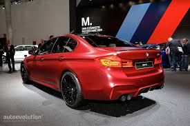 car bmw 2018 2018 bmw m5 flaunts 600 hp awd and frozen red paint autoevolution