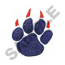 wolf paw print embroidery designs machine embroidery designs at