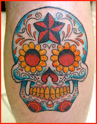 sugar skull tattoo design for those you love popular tattoo ideas