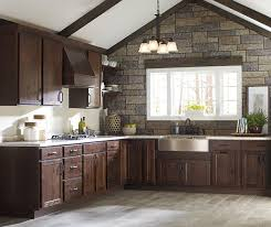 rustic hickory kitchen cabinets rustic kitchen cabinets homecrest cabinetry