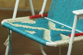 Where To Buy Chair Webbing How To Make A Macrame Lawn Chair Diy Projects