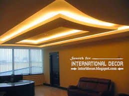 Modern Cornice Design Modern Drop Ceiling Designs With Backlight