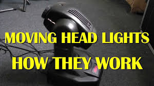 Cheap Moving Head Lights A Look Inside An Old Moving Head Light Youtube