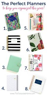 favorite daily planner to keep your organized in the new year