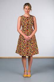 coloured dress como dress multi coloured spot ella sunday