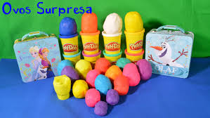 play doh eggs surprise disney princess frozen dora kinder