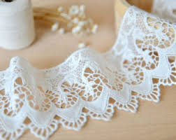 lace ribbon by the yard lace trim etsy