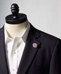 Lapel Flower Gingham Lapel Flower Brooks Brothers