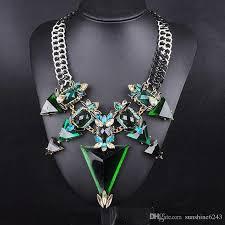 big crystal statement necklace images 2017 new fashion jewelry for women big triangle rhinestone jpg
