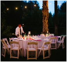 backyard wedding reception evening tips for planning the perfect