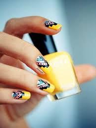 gorgeous aztec nail art ideas