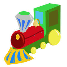 locomotive clipart christmas train pencil and in color