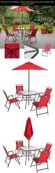 Patio Umbrellas B Q by The 25 Best Patio Set With Umbrella Ideas On Pinterest Umbrella