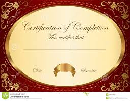 free templates for certificates of completion rental receipt letter