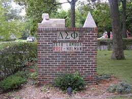 the fraternity house is located