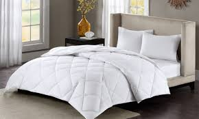 Grand Down All Season Down Alternative Comforter How To Pick The Right Fill For Down Comforters Overstock Com